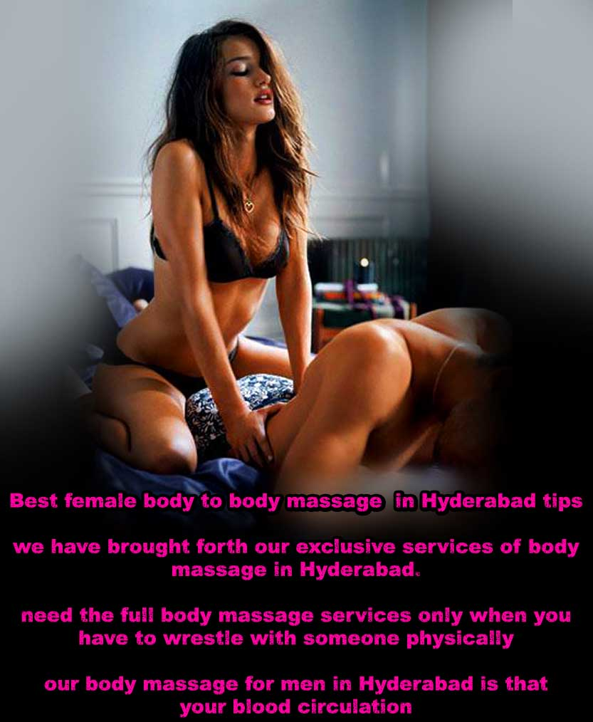 Body Spa and Massage escorts services in Hyderabad